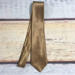 Other - Made in Italy Silk Gold Tie